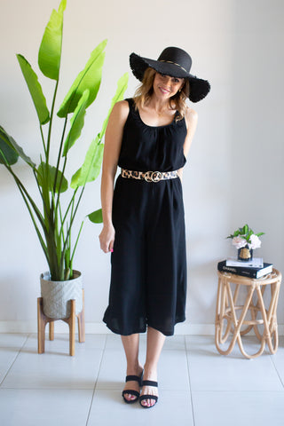 Lightweight Wideleg Jumpsuit
