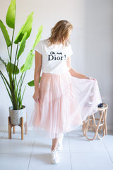 Tulle Skirt - Pink