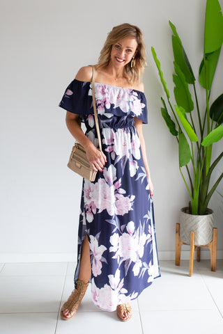Amelia Off The Shoulder Dress