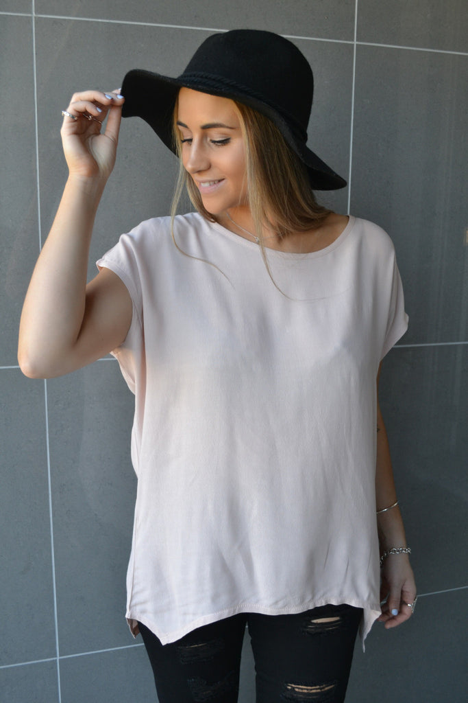 Dream Away Top - Blush