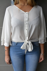 Knot Shirt - White