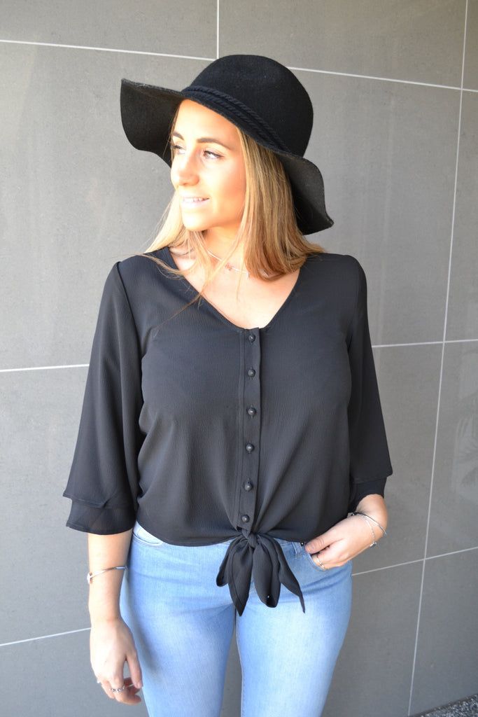 Knot Shirt - Black