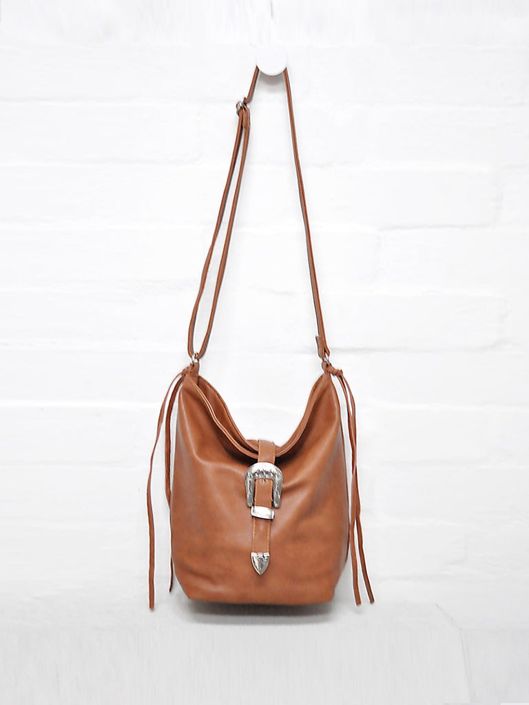 Buckle Bag- Tan