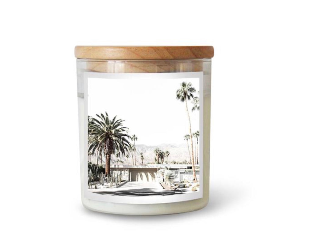 Commonfolk Candle Large-  Palm Springs  (Hudson Valley) Fragrance