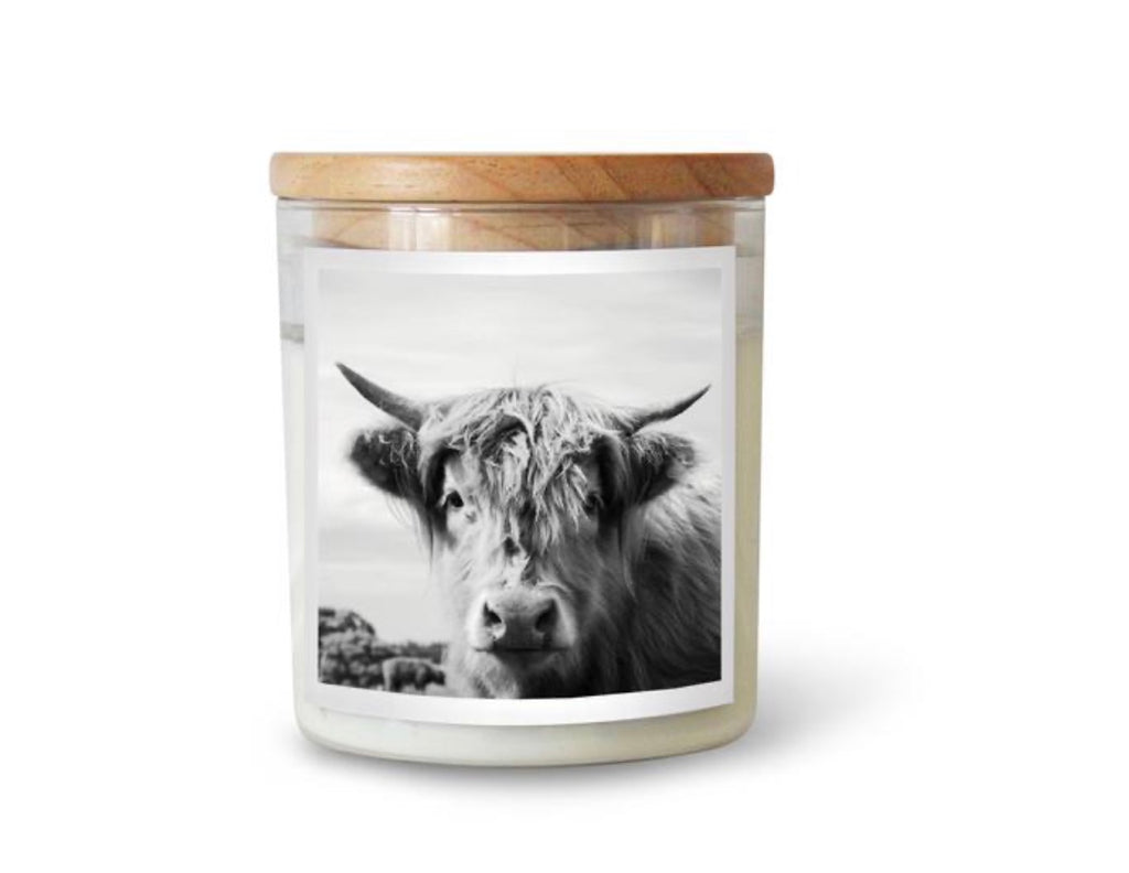 Commonfolf Candle - Highland Cow (Byron) Frangrance