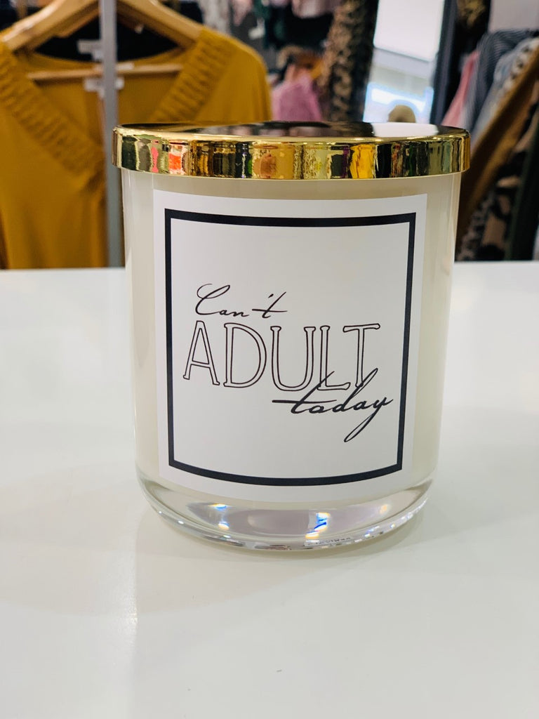 Silk Candle - Cant Adult Today