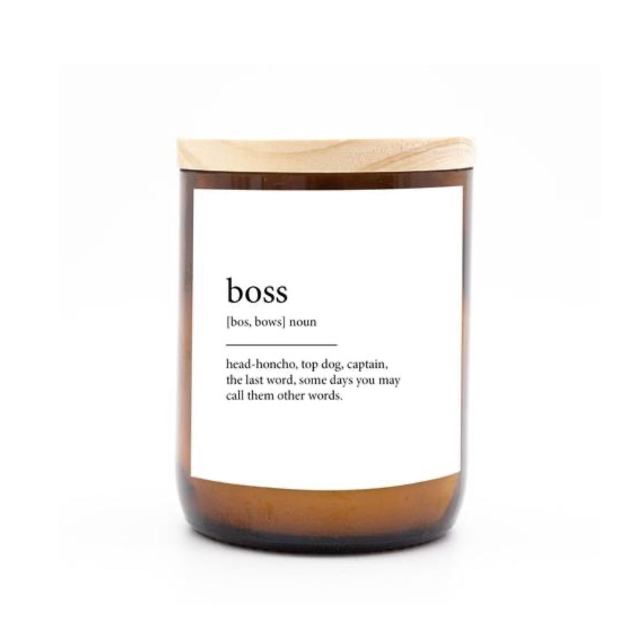 Commonfolk Candle - BOSS