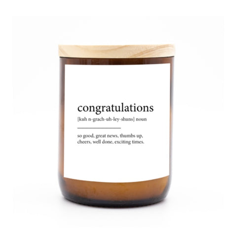 Commonfolk Candle - Congratulations