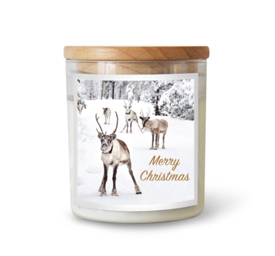 LARGE Commonfolk Candle -  Merry Christmas