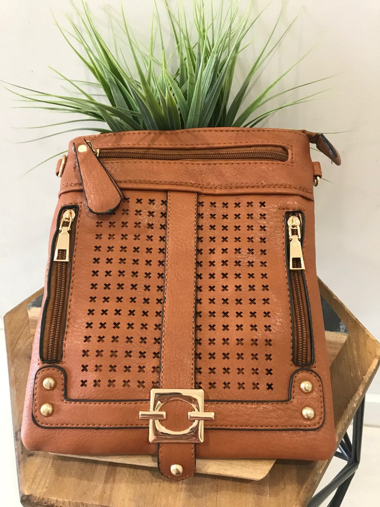 Perth Sling Bag - Tan