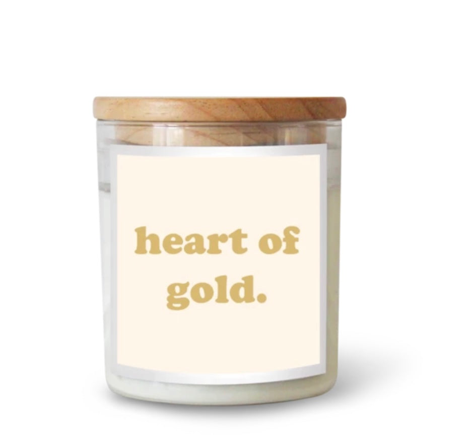 LARGE Commonfolk Candle -  Heart Of Gold