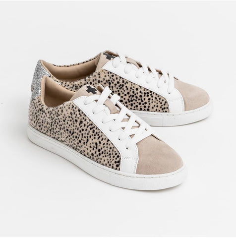 Stella & Gemma Shoes - Taupe Cheetah