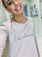 Kindness L/S Top- Mauve Pink (PLUS FREE GIFT of $29.95 item)