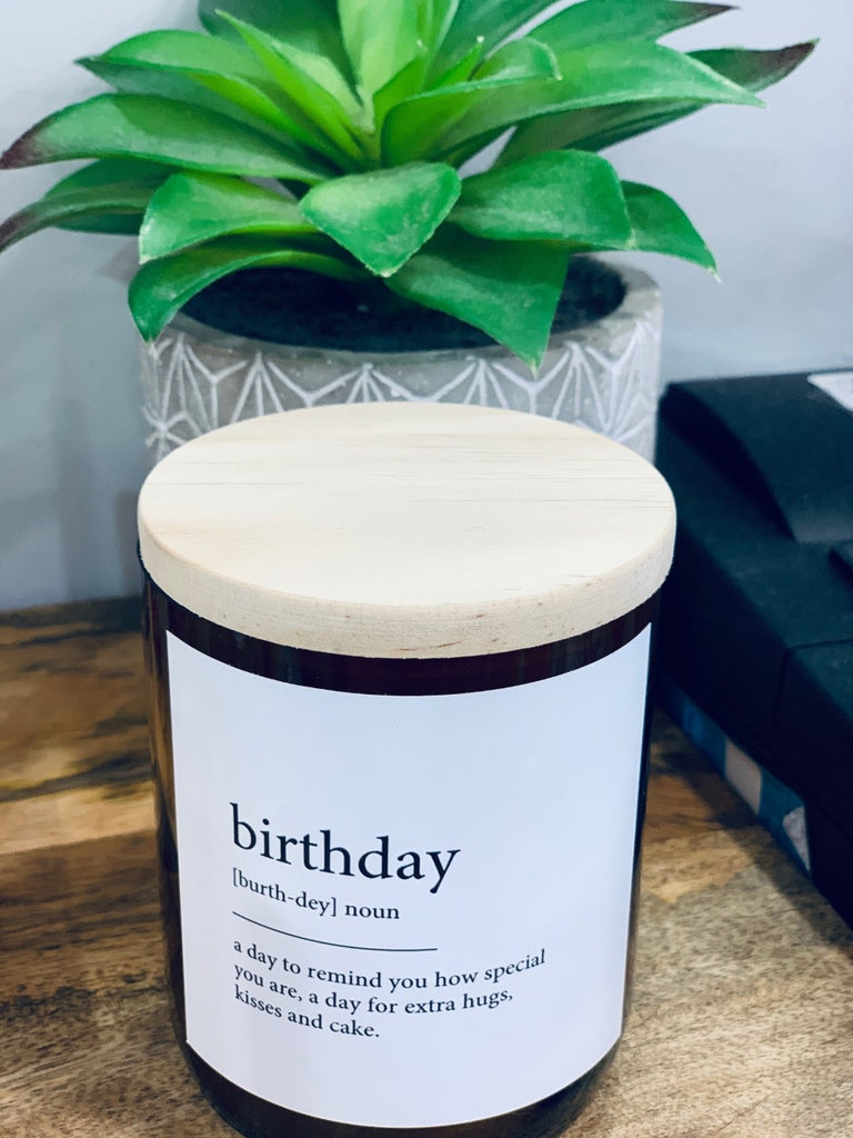 Commonfolfk Candle - Birthday