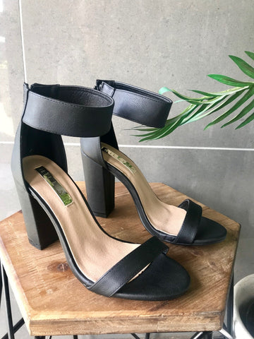 Perth Heel - Black