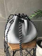 The BIllie Bucket Bag - Grey
