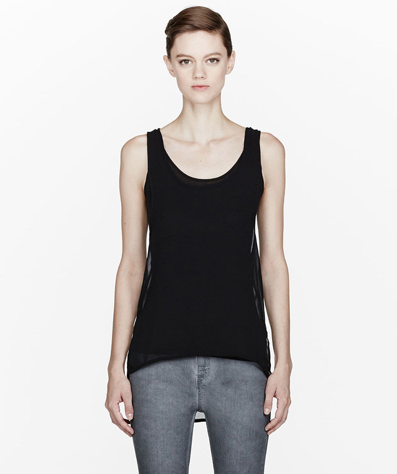 Black layered Seychelles Top