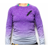 Purple Fade Out Long Sleeve Top
