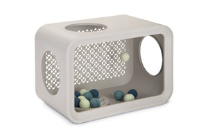 cat cube curver play grey color