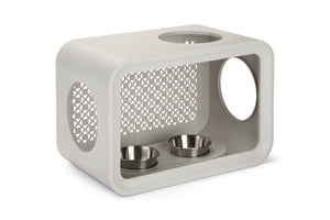 cat cube curver dinner grey color