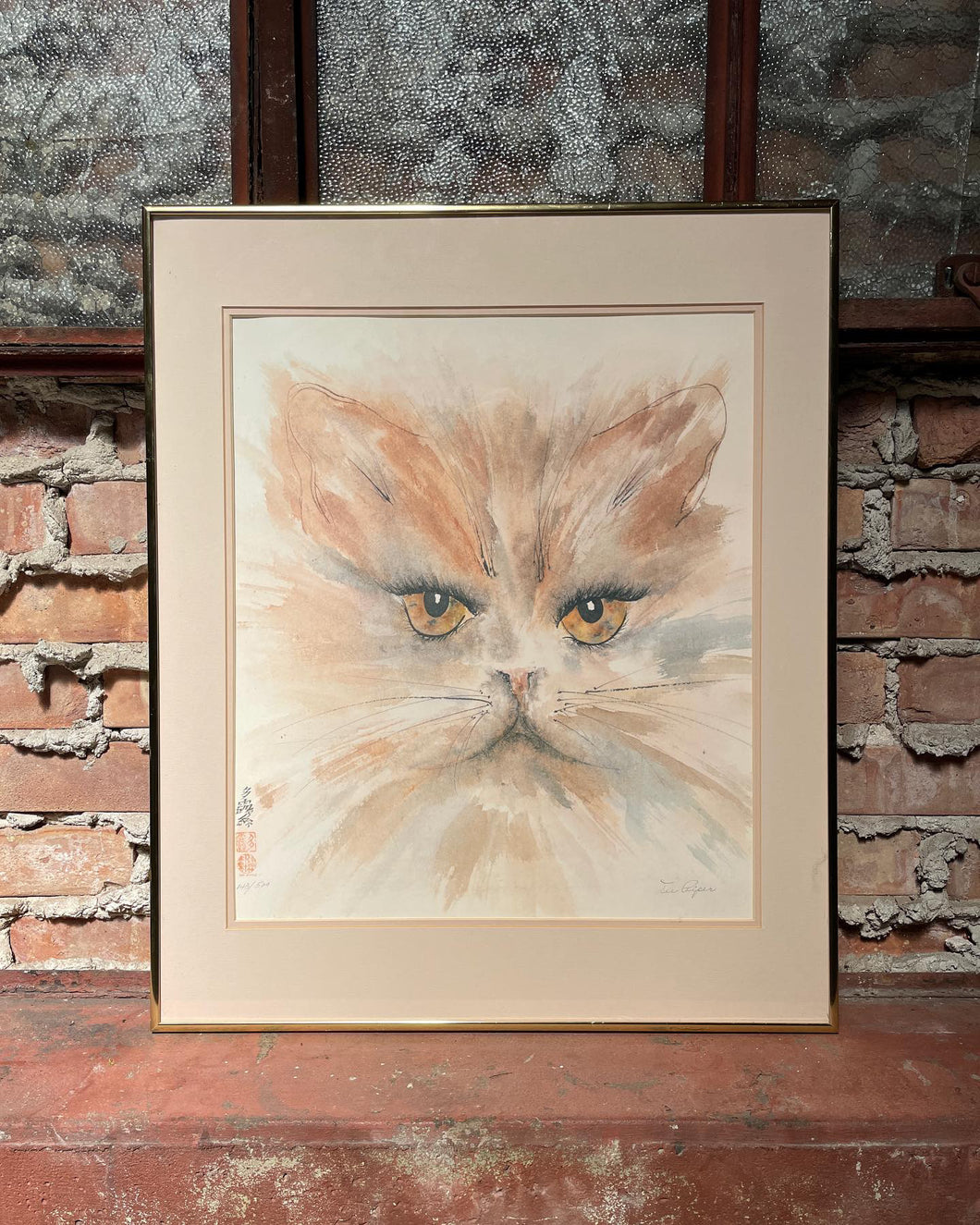 Framed Watercolor Print by Dee Piper