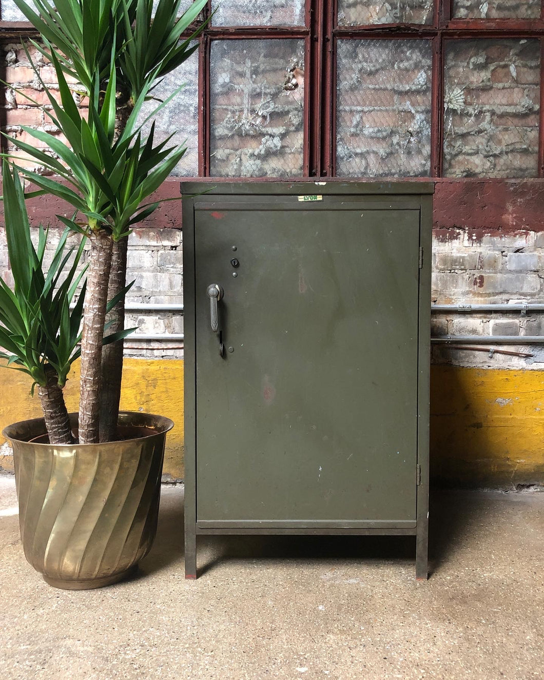 Industrial Side Table / Cabinet