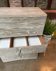 Triangle Brand Grey Highboy on Casters