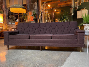 Mid-Century Diamond Couch