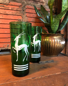 Anchor Hocking Forest Green Highball Set (2)