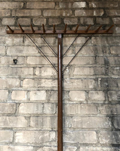 Primitive Rake / Hook Rack