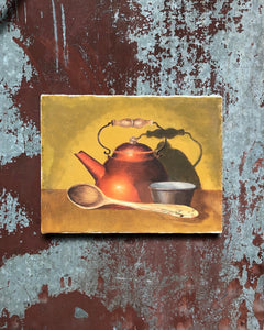 Kettle Painting on Canvas