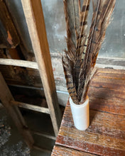 Load image into Gallery viewer, Quartz Vase and Feather Set (2)