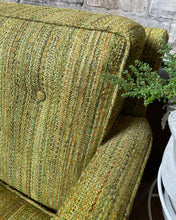 Load image into Gallery viewer, Green Tweed Couch