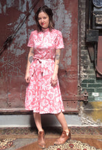 Load image into Gallery viewer, Pink Floral Dress