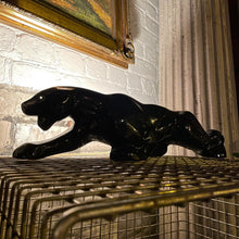 Load image into Gallery viewer, Ceramic Black Panther Lamp