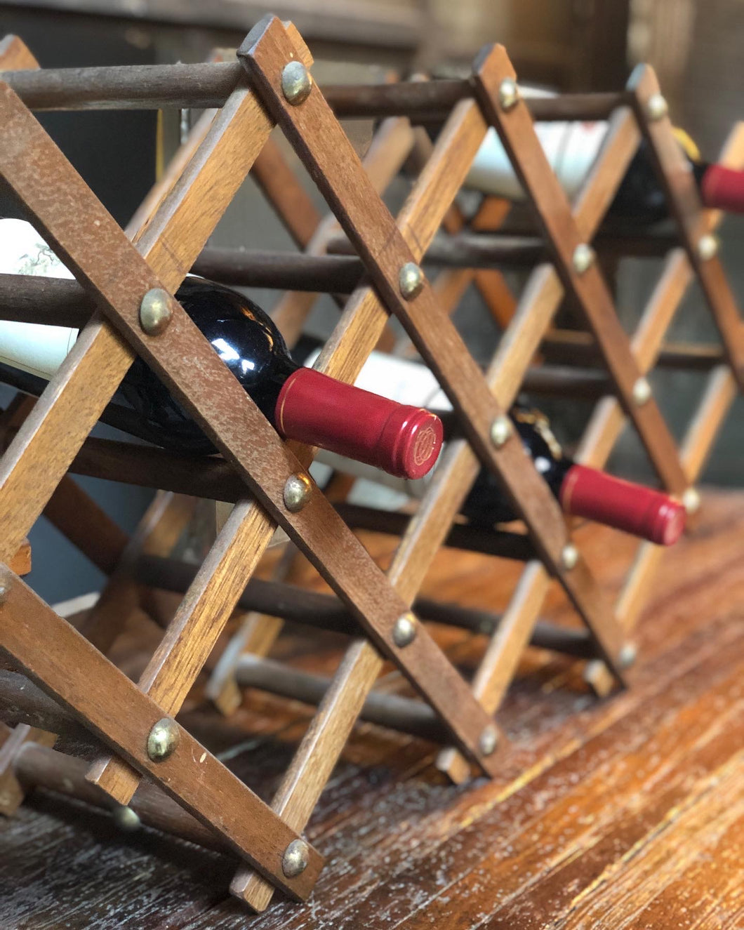 Accordion Wine Rack