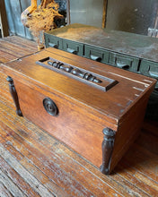 Load image into Gallery viewer, Antique Rustic Mini Chest