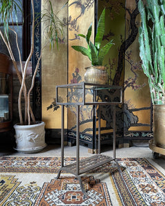 Wrought Iron Side / Accent Table