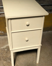 Load image into Gallery viewer, Two-Drawer Cottage Side Table / Nightstand