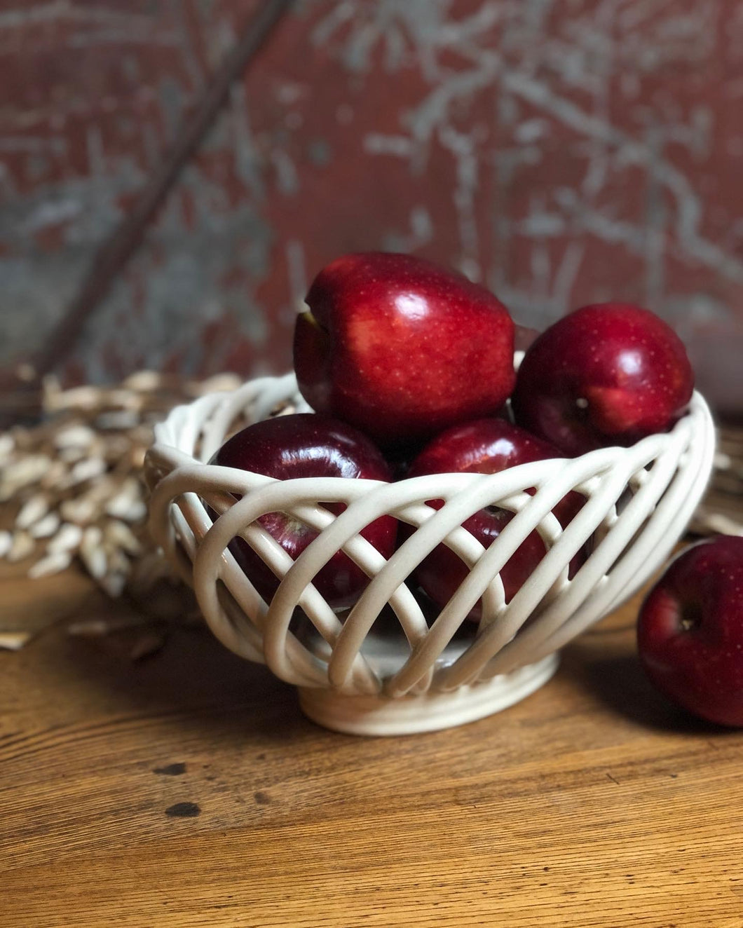 Ceramic Fruit Basket