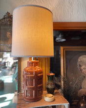 Load image into Gallery viewer, Ceramic Root Beer Barrel / Grenade Lamp