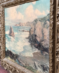 Ornate Sea Landscape Print