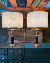 Load image into Gallery viewer, Fiberglass-Style Shaded Lamp Set (2)