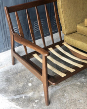 Load image into Gallery viewer, Mid-Century Slat-Frame Sofa Set by Baumritter (2)