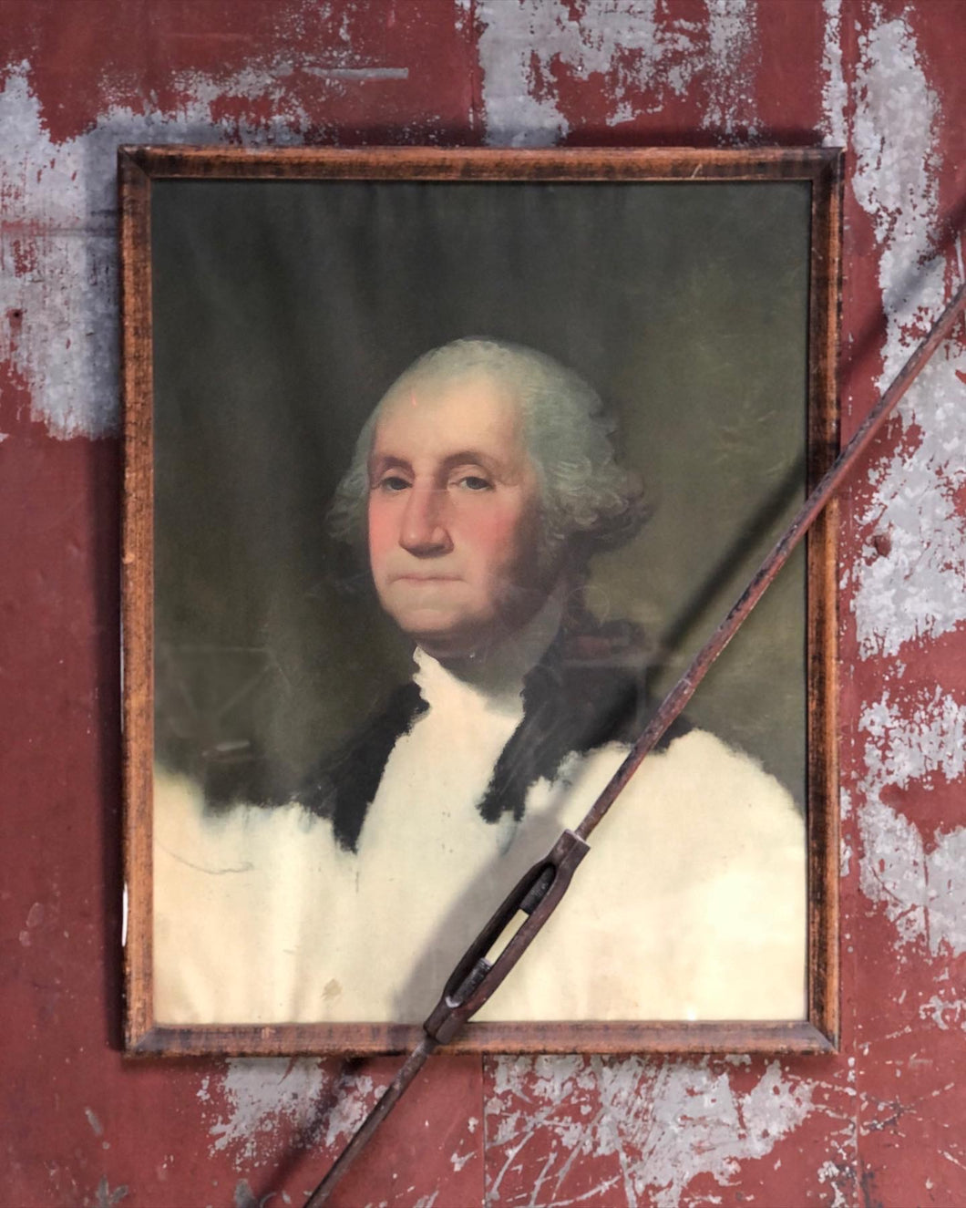 Framed George Washington Portrait