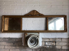 Load image into Gallery viewer, Antique Two-Panel Mirror