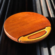 Load image into Gallery viewer, Teak Cheese Serving / Cutting Board by Dansk