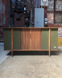 Radio / Record Console Cabinet by Hill-Craft