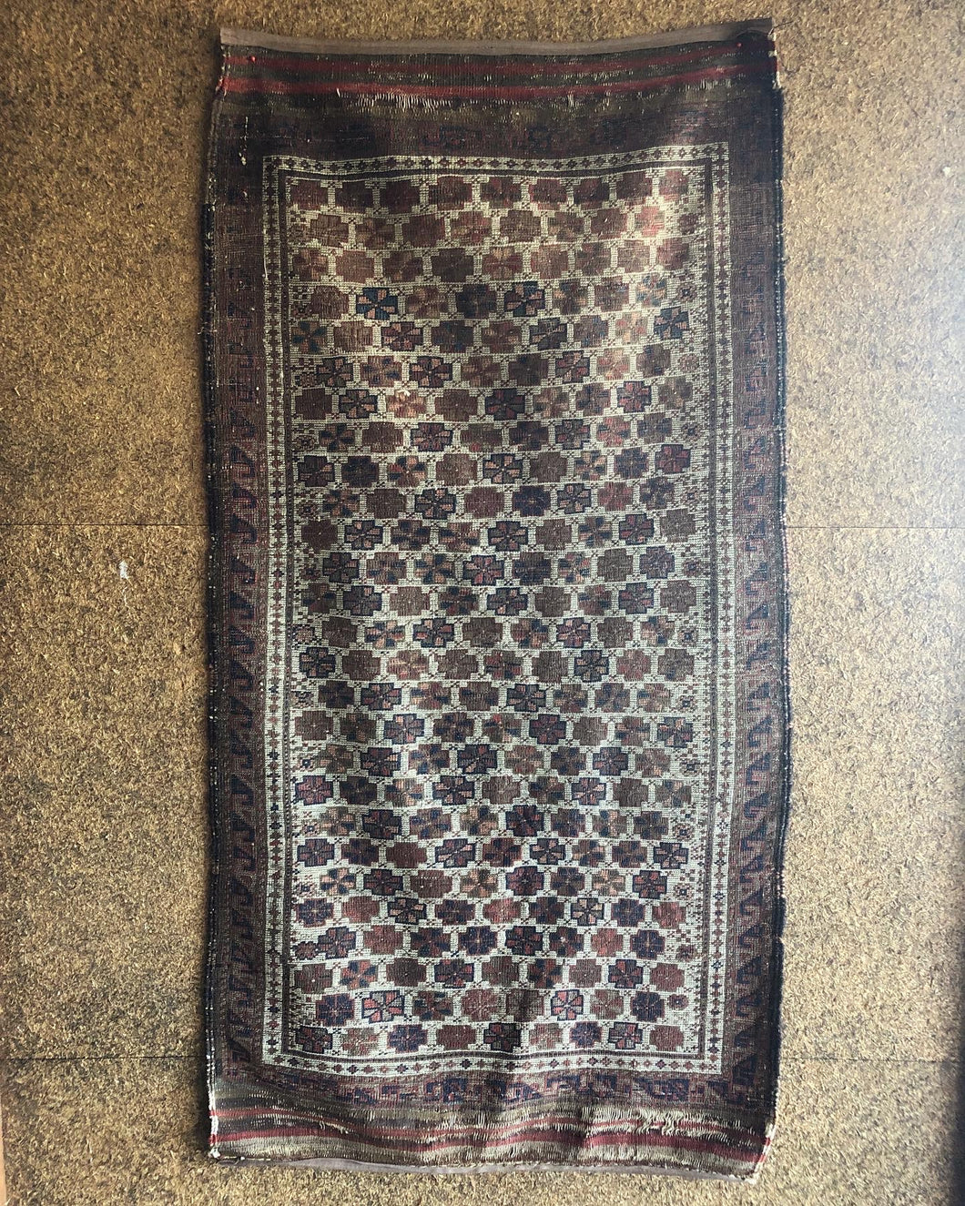 Antique Afghan Rug