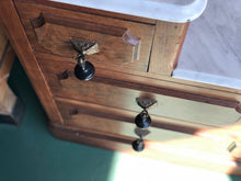 Load image into Gallery viewer, Antique Vanity w/ Marble Top